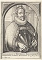 Portret van Ferdinand II, keizer Theatrum pontificum, imperatorum, regum, ducum (serietitel), RP-P-1908-1221.jpg