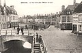 Postcard- Bergues - Le Pont Saint-Jean (Maison de 1597), sent Feb 1915 (6255470084).jpg