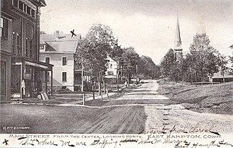 East Hampton, Connecticut - Main Street, circa 1907