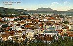 Postcard of Ljubljana from Ljubljana Castle 1922 (2).jpg