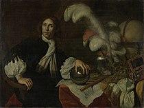 Posthuum portret van Aucke Stellingwerff. Admiraal van de admiraliteit van Friesland, gesneuveld in 1665 bij Lowestoft door een kanonskogel Rijksmuseum SK-A-148.jpeg