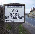 Poteau Michelin-Bannay (Cher).jpg