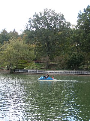 Pullen Park - paddle boats