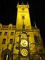 Prag - Rathausturm mit der berühmten Rathausuhr - Radnice se slavným orlojem - panoramio (2).jpg
