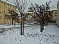 Praha, Malá strana, Hellichova ulice pod sněhem.JPG