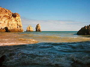 Fielsformatioun Praia do Algarve