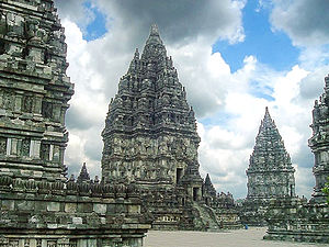 Roro Jonggrang - Shiva temple, the main temple at Prambanan