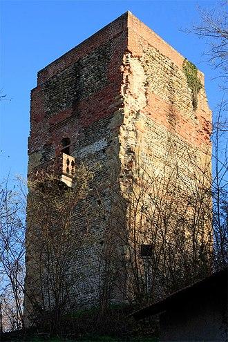 Prato Sesia - medieval tower