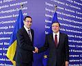 Premierul Victor Ponta s-a întâlnit astăzi, la Bruxelles, cu preşedintele Comisiei Europene, Jose Manuel Barroso.jpg