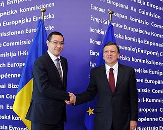 Victor Ponta - Ponta meeting with European Commission President José Manuel Barroso