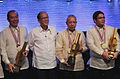 President Aquino with the 2013 The Outstanding Filipino (TOFIL) awardees.jpg