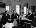 President John F. Kennedy with Deputy Secretary General of the National Defense Council of China, General Chiang Ching-kuo.jpg