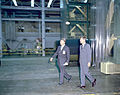 President Kennedy Tours Marshall with von Braun (9458160235).jpg