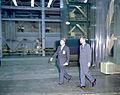 President Kennedy Tours Marshall with von Braun (9458160235).jpg