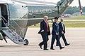 President Trump Arrives at Joint Base Andrews (47965956207).jpg