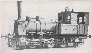 Prussian T 3 - Image: Preußische T3 1905
