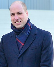 Photo of Prince William aged 35