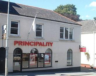 Principality Building Society - Llandeilo branch