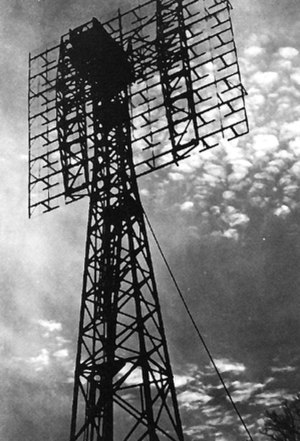 Project Diana - Project Diana radar antenna, Fort Monmouth, New Jersey