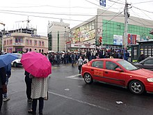 Protests against Serzh Sargsyan, Sevak street, Zeytun.jpg