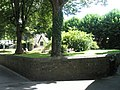 Public garden opposite St Peter and St Mary Magdalene, Barnstaple - geograph.org.uk - 936662.jpg