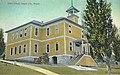 Public school building in Canyon City, Oregon, circa 1925 (AL+CA 1950).jpg