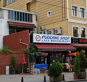 "Pudding Shop - The ""Pudding Shop"" in 2010."