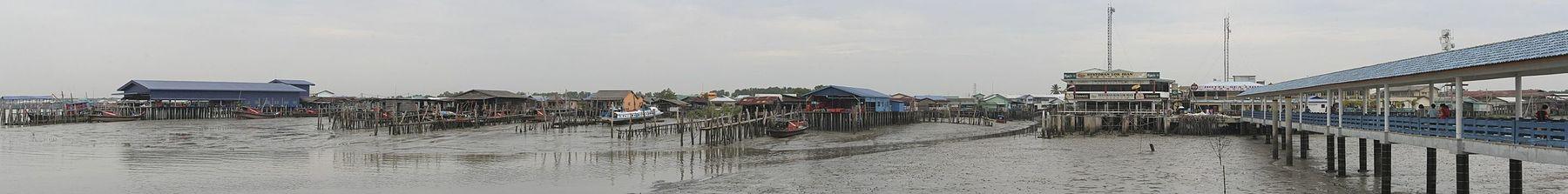 Panorama of Pulau Ketam