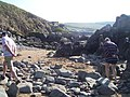Putsborough , Rocks on the Beach - geograph.org.uk - 1155247.jpg