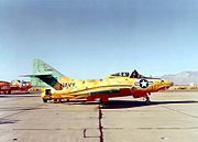 QF-9J Cougar target drone at China Lake in 1970