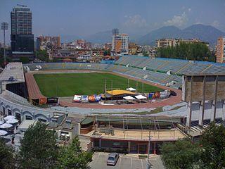 Qemal Stafa Stadium football stadium