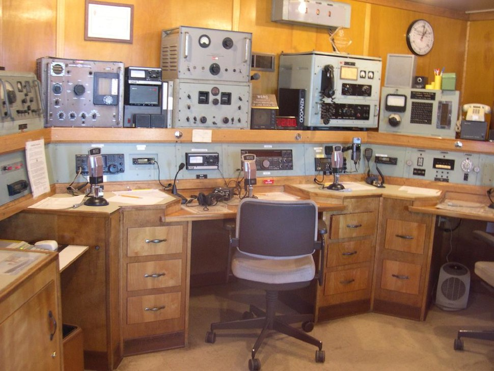 Queen Mary radio room