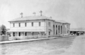 Queensland State Archives 2670 Bowen Court House Williams Street Bowen Whitsunday Region c 1890.png