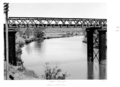 Queensland State Archives 4675 Railway Bridge over the Albert River June 1952.png