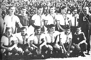 Quilmes Atlético Club - Quilmes AC in 1949, when winning the Primera B title