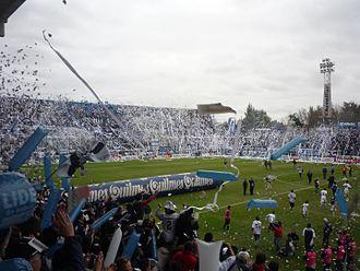 Estadio Centenario Ciudad de Quilmes - Estadio Centenario during a  football match in 2010