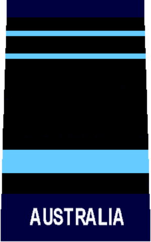 Air marshal - An RAAF air marshal's rank insignia.