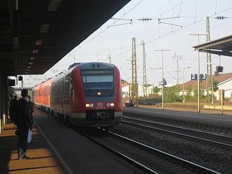 Rhine Railway (Baden) - Image: RE Mainzkarlsruhe
