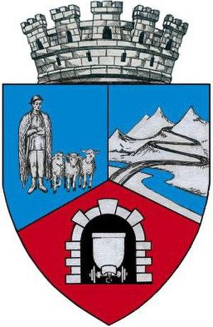 Vulcan, Hunedoara - Image: ROU HD Vulcan Co A