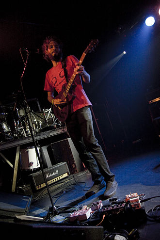 Matt Embree - Matthew Embree touring with RX Bandits in Barcelona, Spain