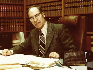 Robert Walker (Canadian politician) - Robert A. Walker QC in 1980