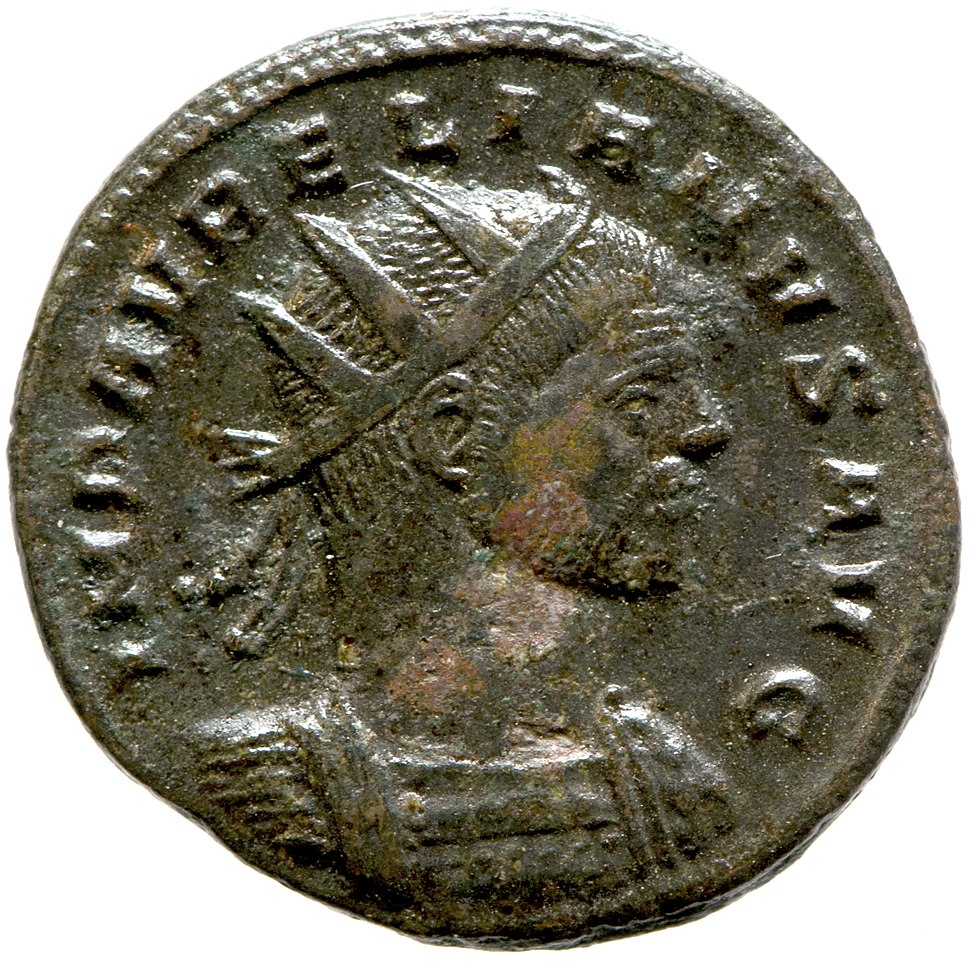 Radiate of Aurelian (YORYM 2001 9658) obverse