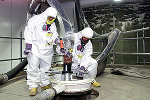 Fluor Corporation - Fluor workers at a radiation cleanup site in Ohio
