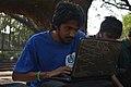 Rafaell Russell at Wikipedia 15 good article edit-a-thon and adda, Chittagong 1 (03).jpg