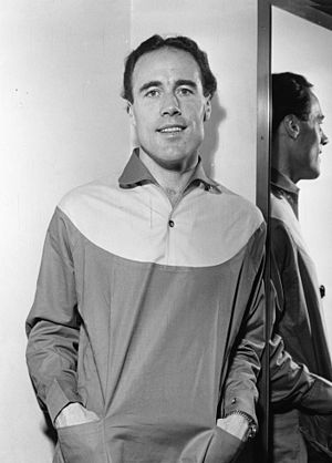 Ragnar Lundberg - Lundberg in 1956