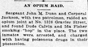 International Opium Convention - Opium article from The Daily Picayune, February 24, 1912, New Orleans, Louisiana