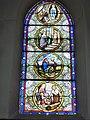 Raimbeaucourt (Nord, Fr) église, vitrail 05.JPG