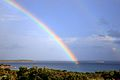 Rainbow on Cerbicale Islands.jpg