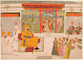 Raja Indrijit Singh Deo with Radha, Krishna and musicians (6125119496).jpg