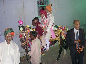 Punjabi wedding traditions - Ghodi chadna